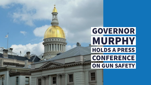 Governor Murphy Holds Press Conference on Gun Safety