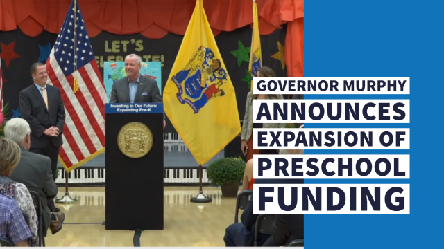 Governor Murphy to Make Announcement on Pre-K