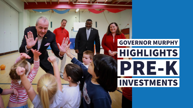 Governor Murphy Highlights Pre-K Investments