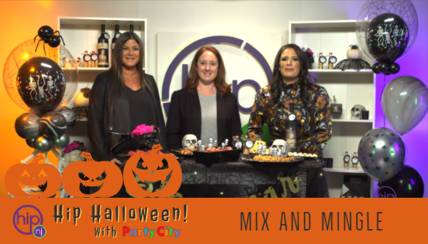 Hip Halloween 2019 with Party City - Mix and Mingle
