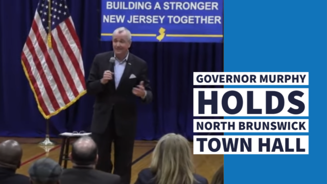 Governor Murphy Holds North Brunswick Town Hall